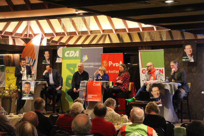 Het lijsttrekkersdebat van LTO Berkelland bij Prinsen in Haarlo.