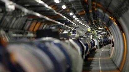CERN slaagt erin de massa van het Higgsboson deeltje te meten
