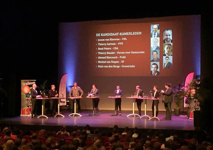 Grote verkiezings debat van KSE in Etten-Leur