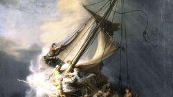De grootste kunstroof na WOII: wat gebeurde er écht met het enige zeeschilderij van Rembrandt?