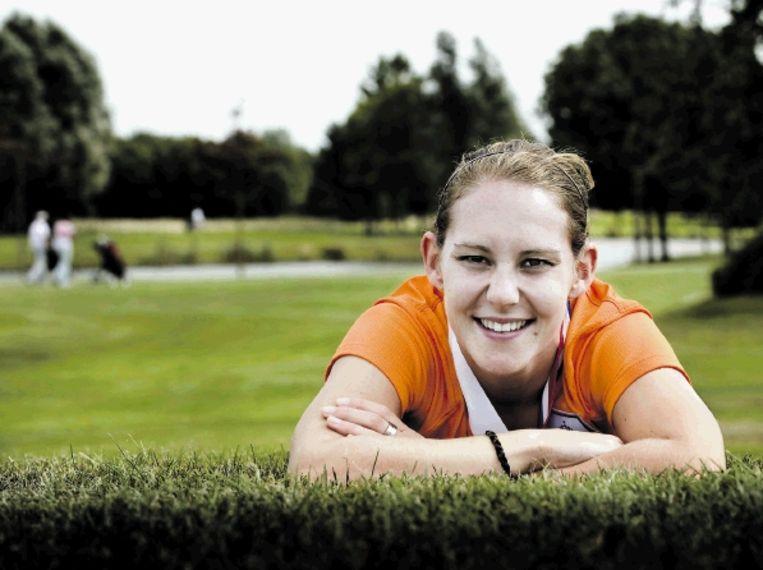 Manon Melis moest flink wennen aan het topsportklimaat bij haar Zweedse club. (FOTO PATRICK POST, SPORTSTATION) Beeld Patrick Post / Sportstation