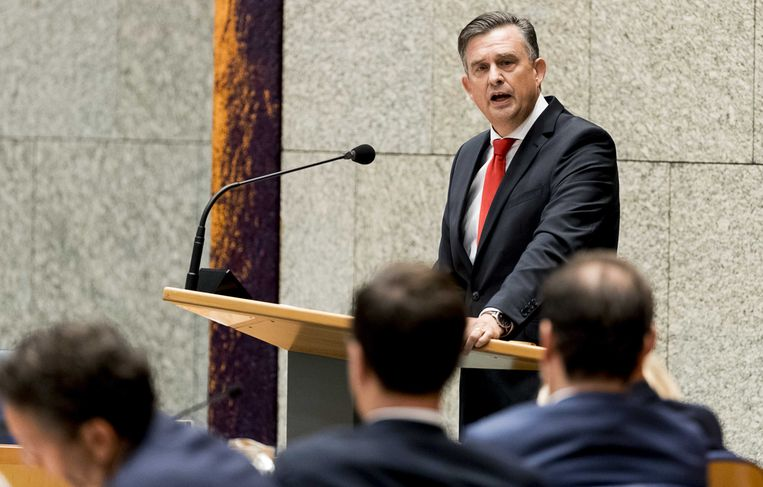 Roemer verdedigt zijn nationaal zorgfonds. Beeld anp