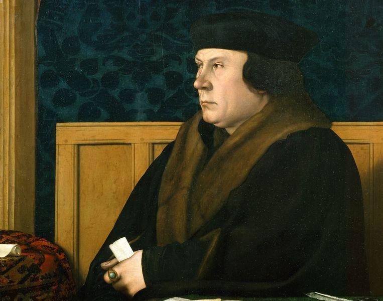 Thomas Cromwell, geportretteerd door Hans Holbein de Jongere Beeld Hans Holbein