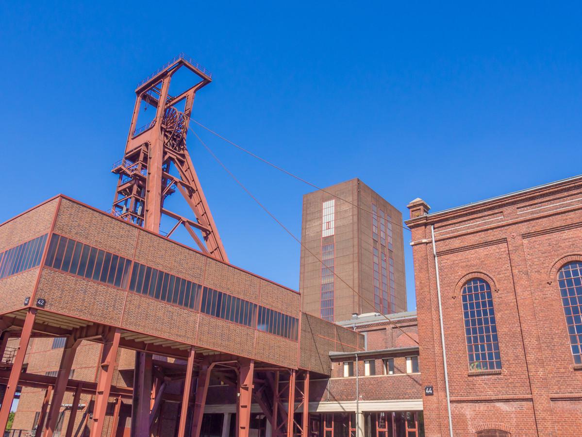 Ooit de grootste steenkolenmijn ter wereld. Nu staat Zeche Zollverein in Essen op de lijst van Unesco.