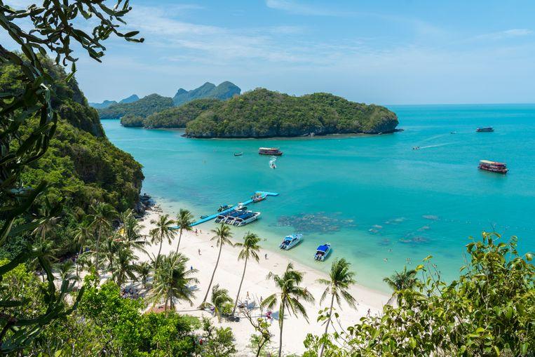 Het Thaise eiland Koh Samui