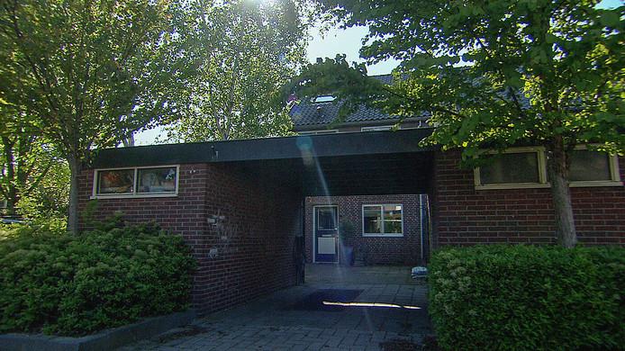 De woning in Naaldwijk waar zestien jaar geleden de moord werd gepleegdde