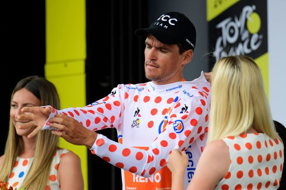 Greg Van Avermaet in de bollen.