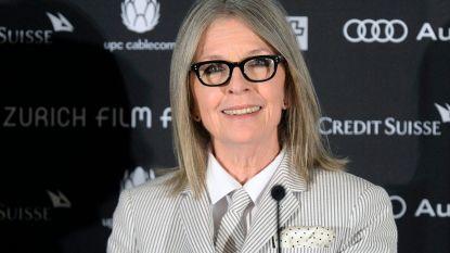 Diane Keaton blijft Woody Allen steunen
