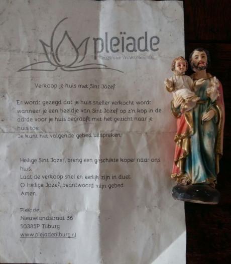 Sint Jozef doet ook in Moergestel wonderen op de woningmarkt: 'Begraaf hem in je tuin'