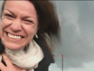 Weervrouw Jill emotioneel door prachtige tornado's