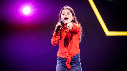 "Jana (8) is jongste kandidaat ooit in 'The Voice Kids': ""De camera's, de spanning: ze is goed begeleid"""