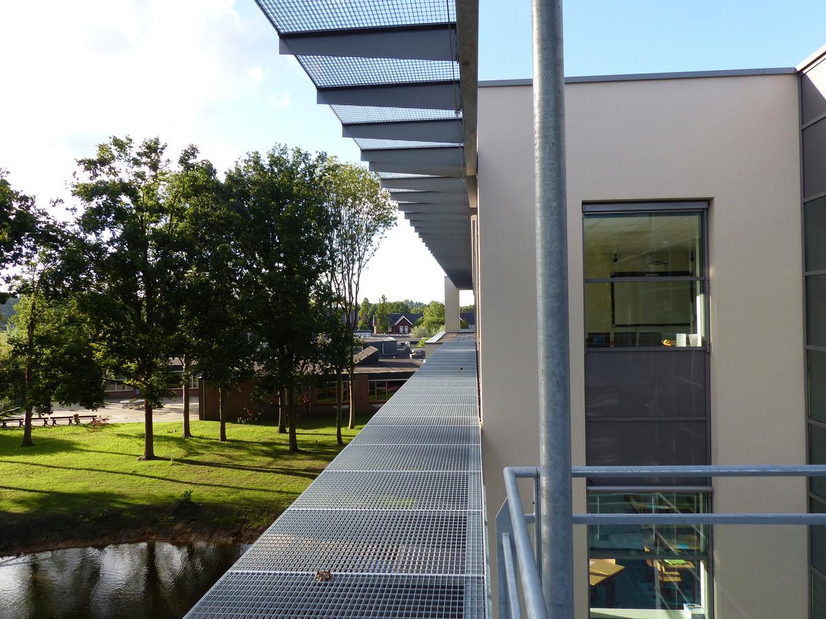 Een deel van het Elde-college in Schijndel.