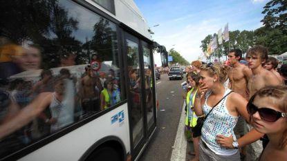 Tijdens Pukkelpop gratis nachtbussen van Kiewit naar 31 haltes in Sint-Truiden