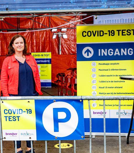 Binnen een half uur uitslag van coronatest bij nieuwe teststraat in Apeldoorn