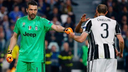 42-jarige Buffon tekent nieuw contract bij Juventus, ook Chiellini verlengt met één jaar