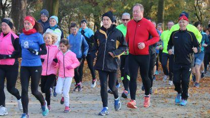 Geslaagde nieuwe start voor zondagjogging in domein De Ghellinck