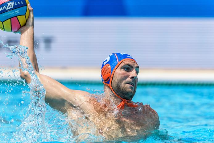 GZC DONK-aanwinst Guus van IJperen hoopt zich met Oranje te plaatsen voor de Olympische Spelen.