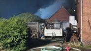 Drie verdachte branden in twee uren in Meerhout