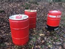 Mogelijk wéér drugsafval in West-Brabant: drie olievaten gedumpt bij Bergen op Zoom