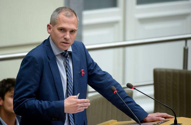 Vlaams minister van Begroting Matthias Diependaele