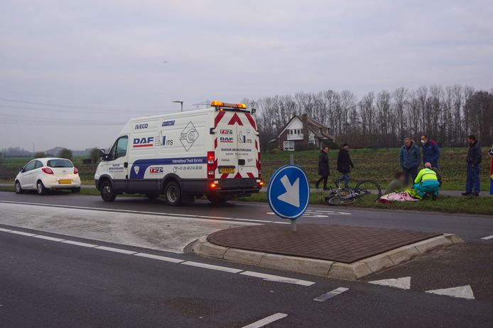 Ongeval fietser Bunschoten