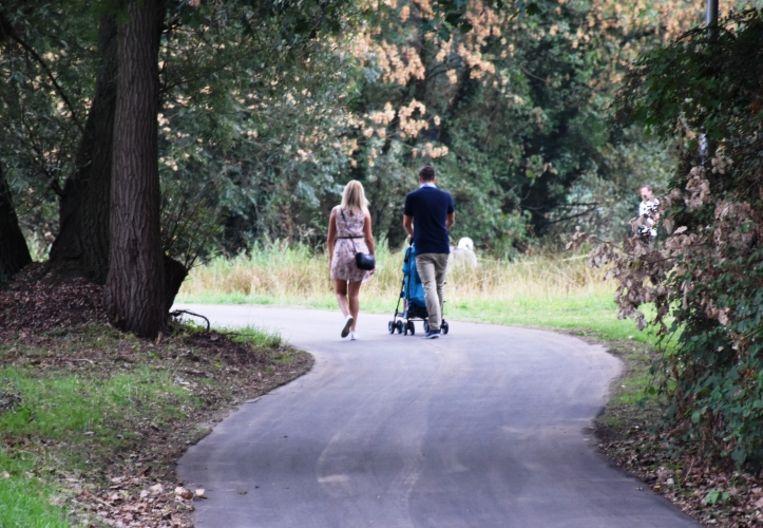 Tegen juli kan men van Lanaken-centrum veilig te voet of per fiets naar Gellik.