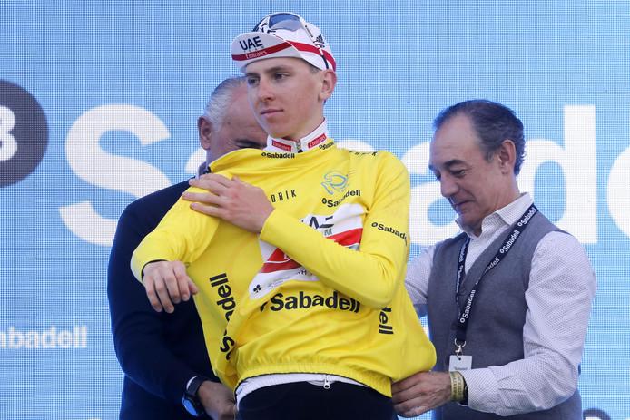 Vainqueur des Tour d'Algarve et de Californie l'an dernier, Tadej Pogacar a rempoté, à Valence, la troisième course à étapes de sa jeune carrière chez les pros.