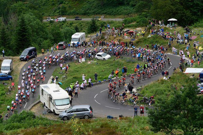 De Tour deed ook vorig jaar La Planche des Belles Filles aan, etappe die Dylan Teuns naar zijn hand zette.