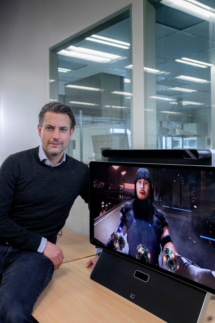Dimenco uit Veldhoven heeft een nieuw soort 3D-monitor ontwikkeld voor simulated reality.