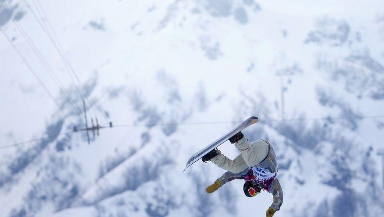 De Amerikaanse snowboarder Danny Davis. Beeld reuters
