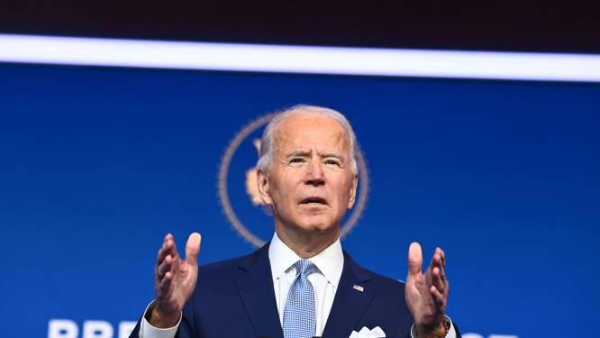 """Biden stelt sleutelfiguren in zijn regering officieel voor : """"Amerika is terug om de wereld te leiden, in plaats van zich eruit terug te trekken"""""""