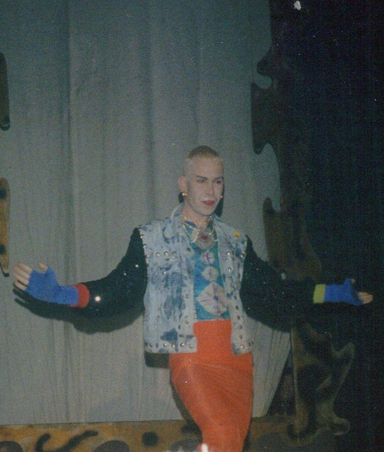 Harrie Wildeman in zijn hoogtijdagen in de Roxy. Beeld Fotograaf onbekend