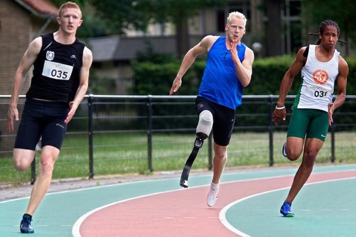 Para-atleet Ronald Hertog.