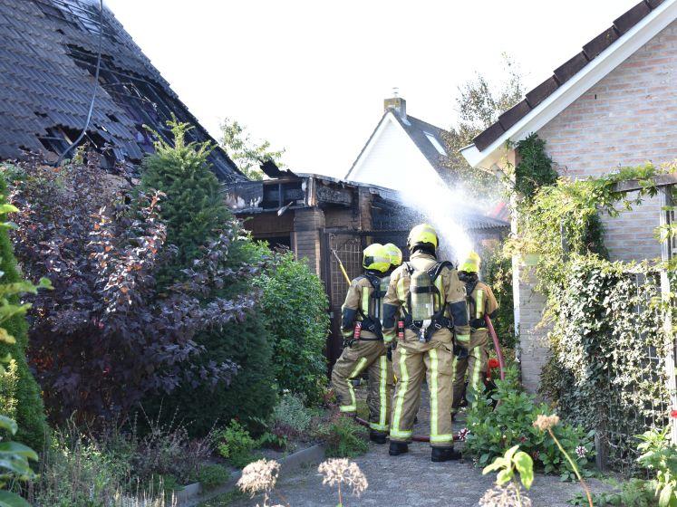 Grote schade bij woningbrand Leidschendam