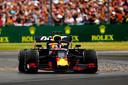 Max Verstappen liep door toedoen van Sebastian Vettel een podiumplaats mis, maar was na afloop opvallend mild.