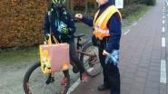18 jeugdige fietsers naar verplichte verkeersles bij gebrek aan fietsverlichting
