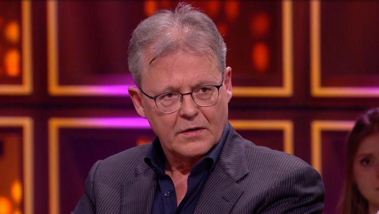 Advocaat Nico Meijering in RTL Late Night. Beeld RTL