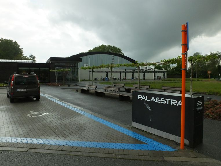 Sportcomplex Palaestra in Petegem.