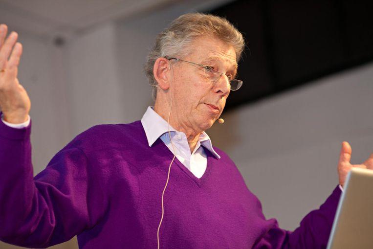 Gerard Unger in 2010. Beeld Michael Bundscherer