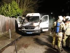 Politie vermoedt verband tussen autobranden in Den Dolder