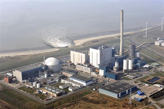 De kerncentrale in het Zeeuwse Borssele.