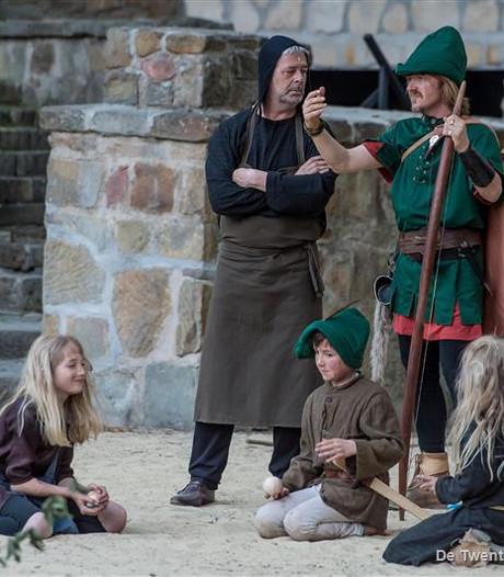 Robin Hood 'grip oe achter 't veske' in Hertme