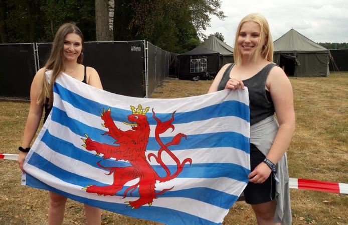 Kim (20) en Nora (23) uit Luxemburg