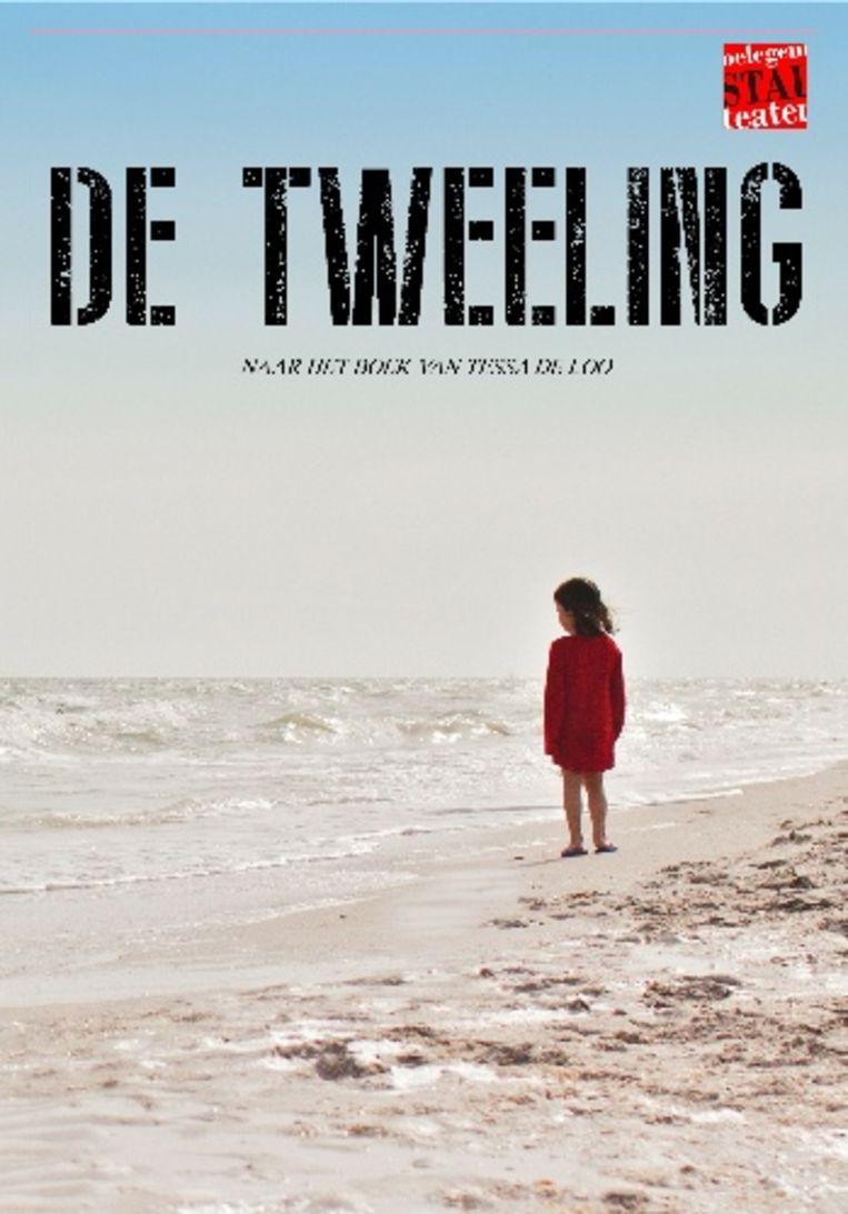 Flyer van het toneelstuk 'De Tweeling'