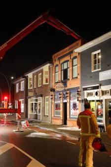 Uitslaande brand bij Feesterij Lugano in Valkenswaard snel onder controle