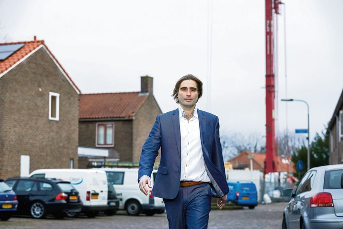 Ronald Leushuis van woningcorporatie Talis in Nijmegen.