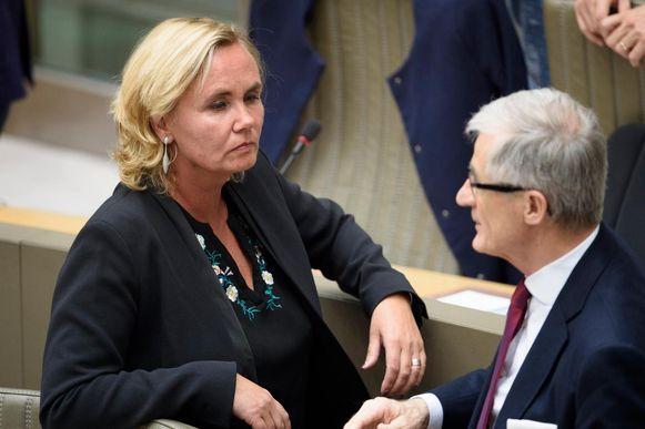 Liesbeth Homans wordt allicht de opvolger van Geert Bourgeois aan het hoofd van de Vlaamse regering.