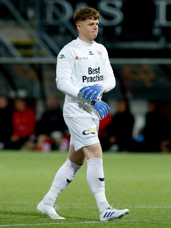 Ronald Koeman, keeper van TOP Oss.