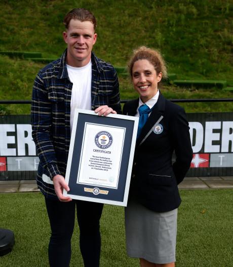 TOP Oss-doelman Ronald Koeman Jr. verslindt Guinness World Record