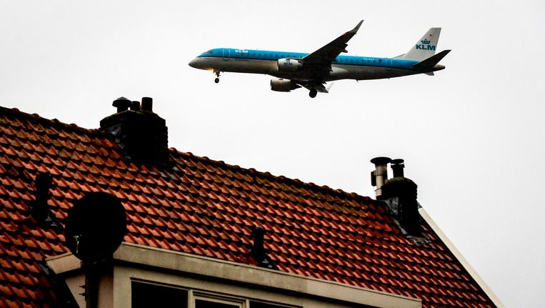 Het aantal klachten over vlieghinder is fors gestegen Beeld anp